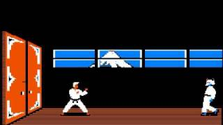 Apple II Game: Karateka (1984 Brøderbund)