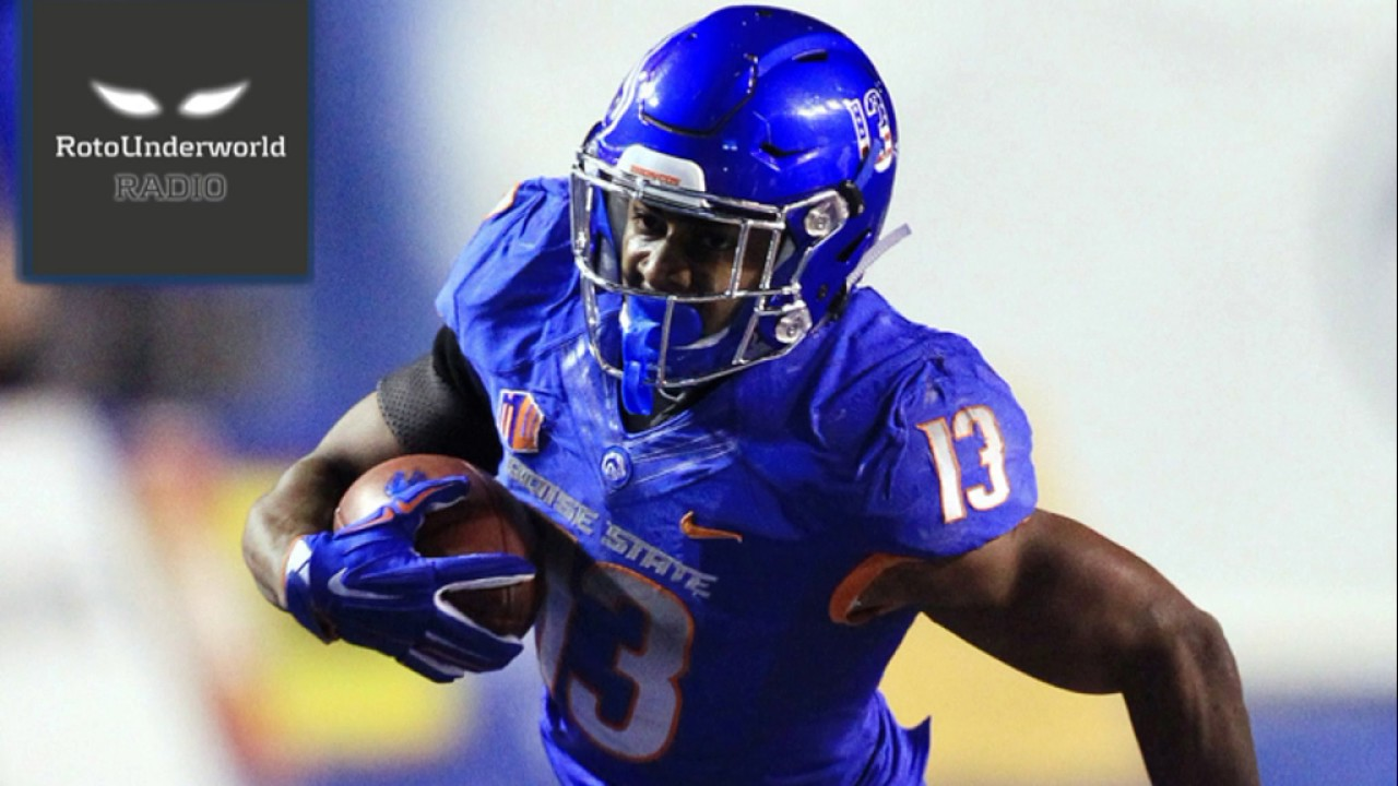 the best attitude 717ba ecb92 Jeremy McNichols vs. D'Onta Foreman: A raging debate to the death