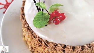 Испечь торт в домашних условиях.Торт Добош