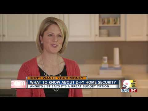 What you need to know about DIY home security systems