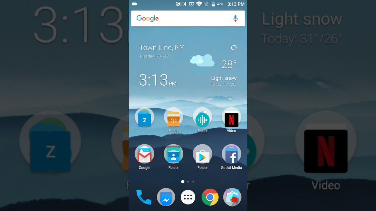 How to change the wallpaper of your ZTE Zmax Pro