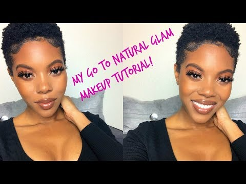 My Go-To, Full Coverage, Natural Glam Makeup Tutorial! thumbnail