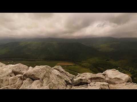 Rock Climbing Nelson Rocks, West Virginia