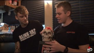 Machine Gun Kelly Interview #2 in Lincoln, NE - Backstage Entertainment