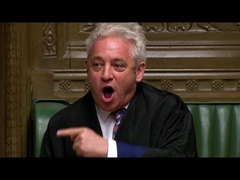 Bercow vows to