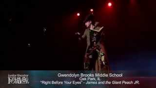 """Right Before Your Eyes"" from Roald Dahl's James and The Giant Peach JR."