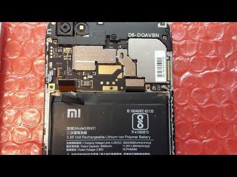 Не работает разговорный динамик на телефоне Xiaomi. Разборка и ремонт