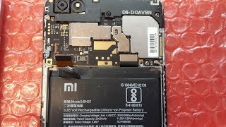 Xiaomi telefon uchun ishchi dinamik emas. Disassembly va ta'mirlash