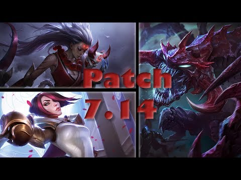 Tier List Update for Patch 7.14