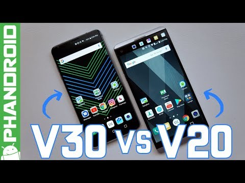 LG V30 vs LG V20: Where