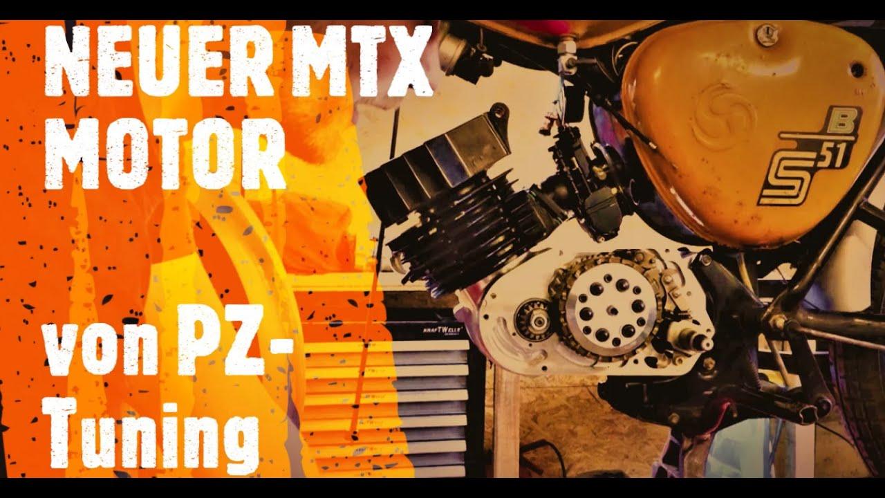Der Neue MTX Motor von PZ-Tuning /Simson