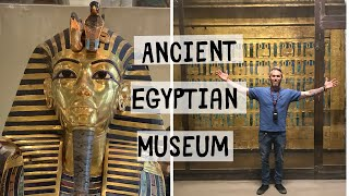 We saw Mummies!! Ancient Statues + More - Egyptian Museum in Cairo - Three Continent Cruise