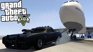 GTA 5 Mods - TOWING A PLANE