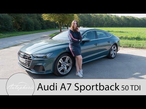 2018 Audi A7 Sportback 50 TDI quattro Fahrbericht / Langzeit-Check des MHEV-Diesel - Autophorie