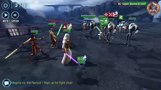Ground War: All tiers Revan lead Jedi