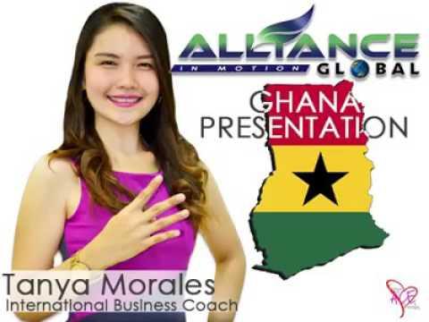 Ghana Business  Presentation for Marketing Plan
