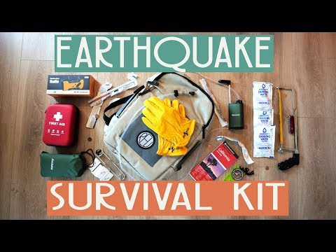 Earthquake Survival Kit 2020; A Los Angeles Necessity