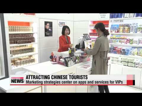 Local department stores boost marketing strategies targeting Chinese tourists