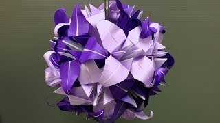 How To Assemble An Origami Flower Kusudama