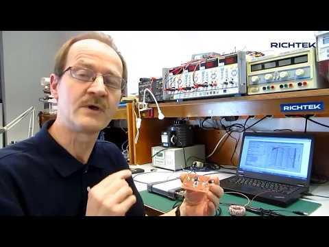 Measuring a buck converter's loop gain and phase using a PicoScope