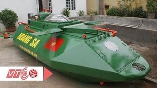Tàu ngầm Hoàng Sa không được thử nghiệm trên biển   VTC