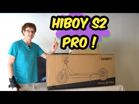 One Small Scooter For Man, One Giant Seat for Mankind - Hiboy S2 Pro unboxing and first impressions.