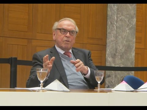 Prof. Moltmann at the WCC: Lecture on the Future of Theology