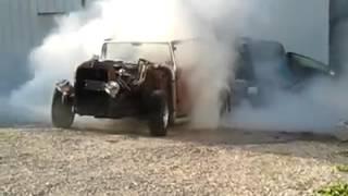 1929 Buick Ratrod Burnout
