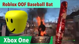 Fallout 4 Xbox One Mods | Roblox OOF BaseballSchläger