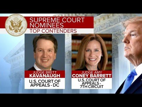 Trump interviews 4 candidates for Supreme Court
