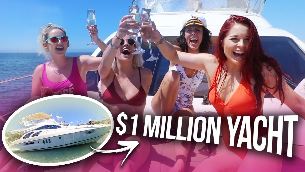 We Had a $1 MILLION DOLLAR YACHT all to Ourselves?!