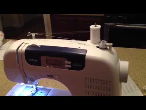 For Beginners Winding Your Bobbin And Setting The Bobbin YouTube Cool Brother Sewing Machine Cs 6000