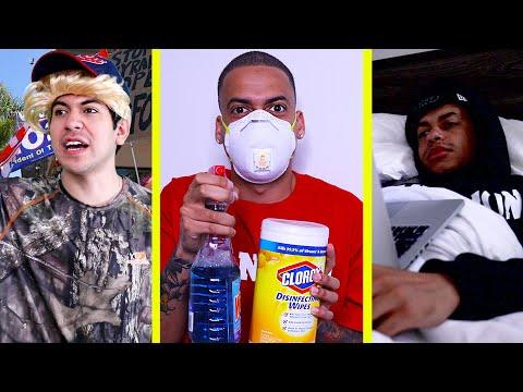 Types of People During Quarantine