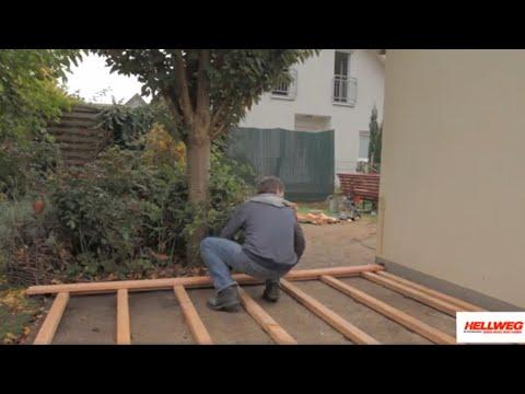 Holzdielen verlegen - so verschönern Sie die Terrasse Forbex