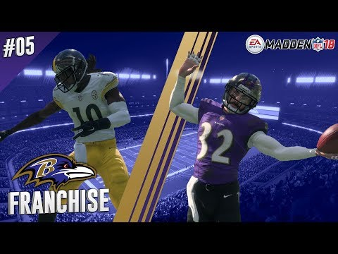 Stick To The Gameplan | vs Steelers (S1,G4) | Madden NFL 18 Baltimore Ravens Franchise Ep. 05
