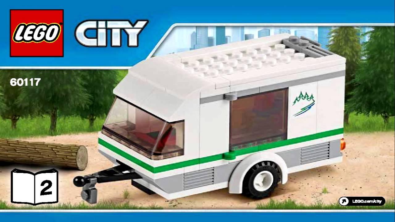 Lego 60117 Van Caravan Instruction Booklet Youtube
