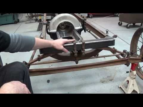 Ford Model T Speedster Chassis and Suspension