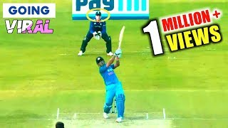 SIX Gone Out Of Stadium   MS Dhoni Longest Sixes In Cricket History