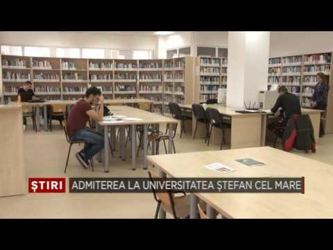 Admiterea la Universitatea Stefan cel Mare