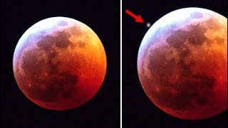 Something Massive Hit The Super Blood Wolf Moon During The Lunar Eclipse