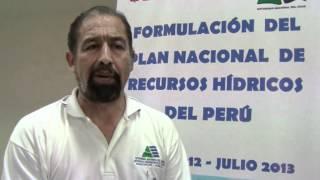 Inician Plan Nacional de Recursos Hídricos en Piura - Perú