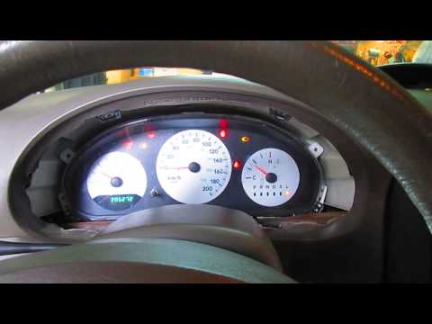Instrument Panel Removal - Dodge Caravan
