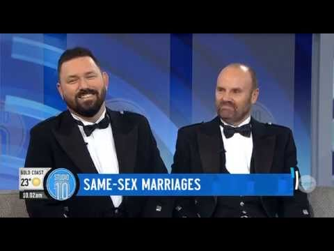 Australia's First Gay Marriage Under UK Laws