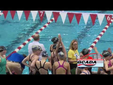 OHSAA Women's District Swimming Finals: Division 2 - February 17, 2017