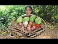Awesome Mix Spicy Mango With Dired Fish Delicious Recipe - Mango Recipe - Village Food Factory