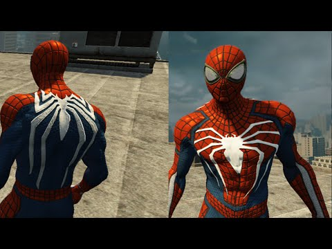 PS4 Spider-man E3 Suit Free Roam Gameplay - The Amazing Spider-man 2 (PC) MOD