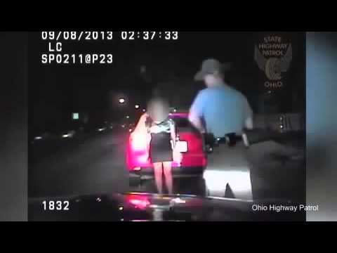 Police Dept. Release Video of Officer Trying to Bag Flirty Passenger After Traffic Stop.