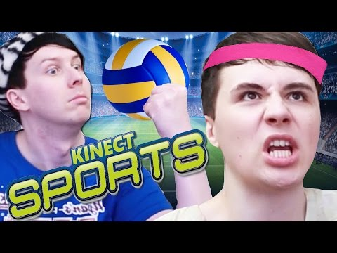 WE ACTUALLY EXERCISE! - Dan vs. Phil: KINECT SPORTS