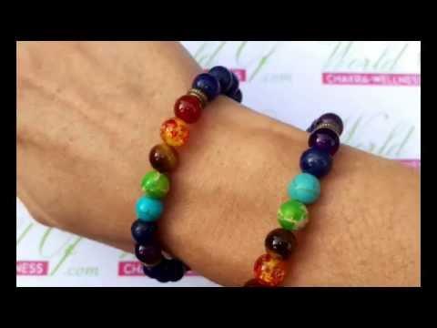 Chakra Stone Lapis Lazily Amethyst bracelet