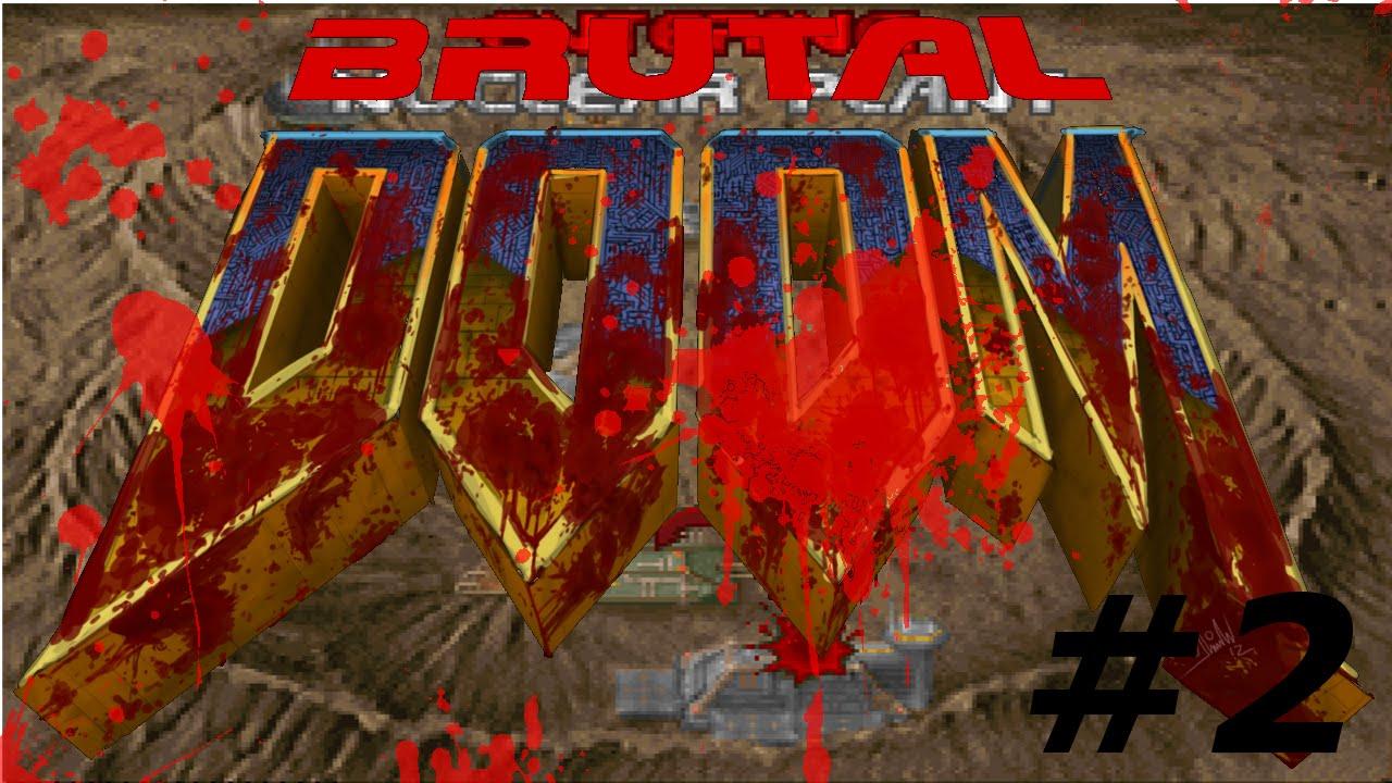 how to play brutal doom on gzdoom